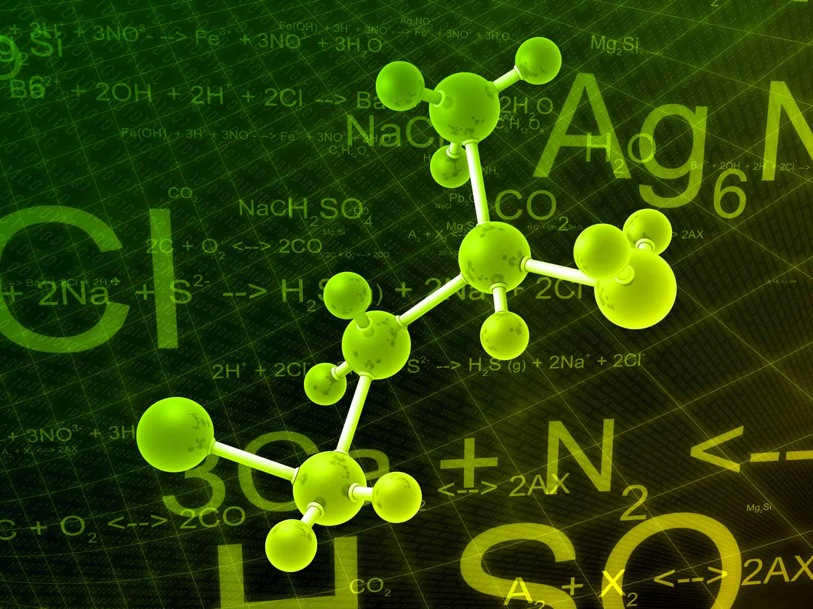 Chemical Laboratory Wallpaper Chemical Formula